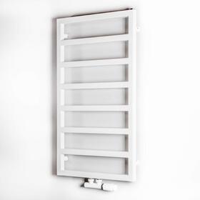 Grzejnik łazienkowy Luxrad Atria ZDC 870x500 biały